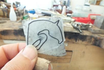 Gümüş At Kolye Tasarımı
